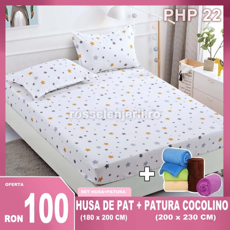 Pachet Husa Finet + Patura Cocolino (cod PHP22)