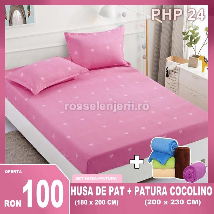 Pachet Husa Finet + Patura Cocolino (cod PHP24)
