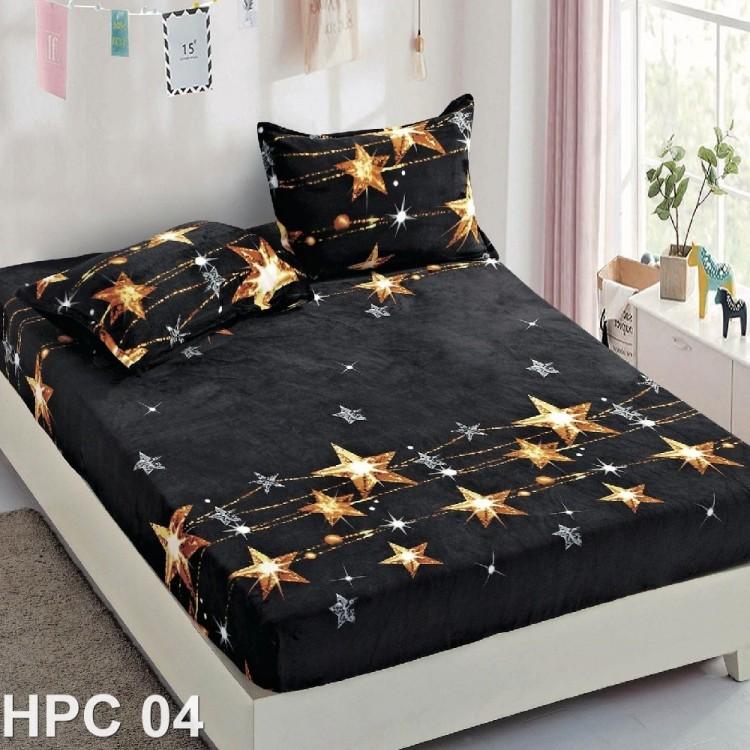 Husa de pat cocolino cu doua fete de perna (cod HPC04)