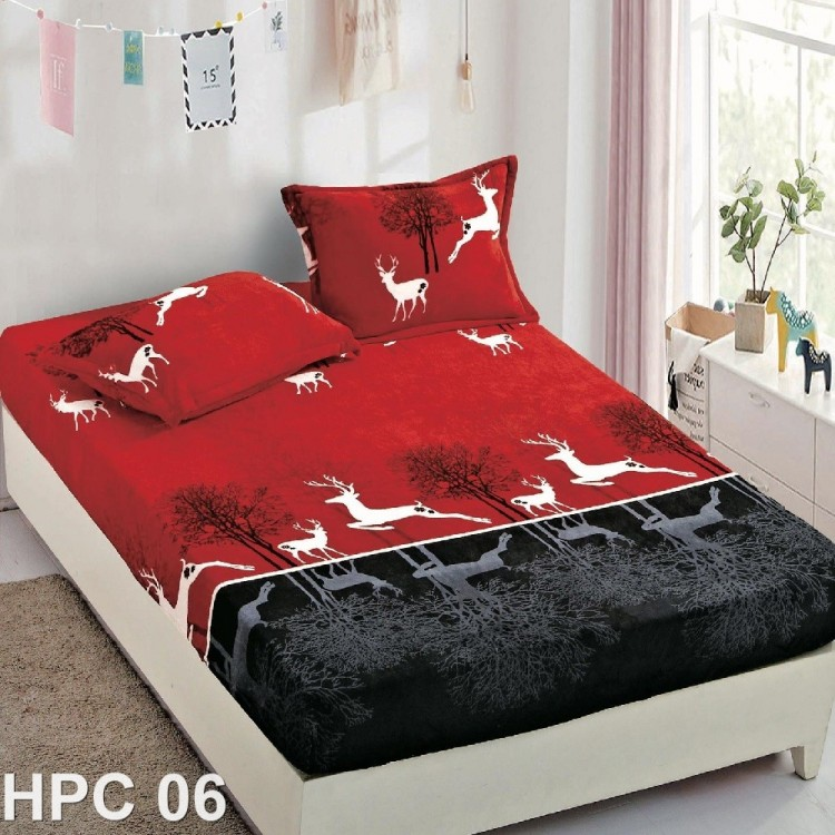 Husa de pat cocolino cu doua fete de perna (cod HPC06)