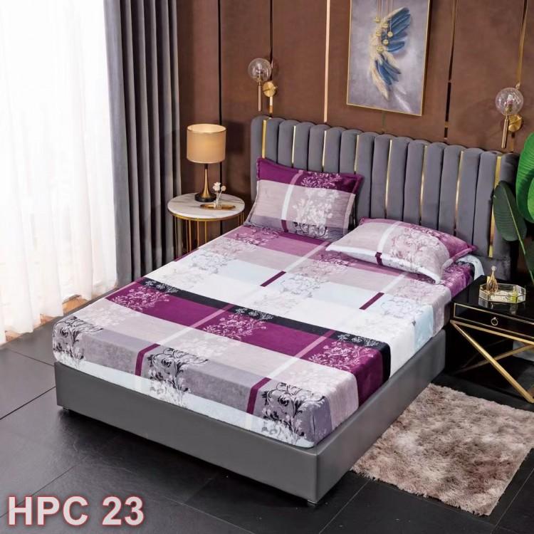 Husa de pat cocolino cu doua fete de perna (cod HPC23)
