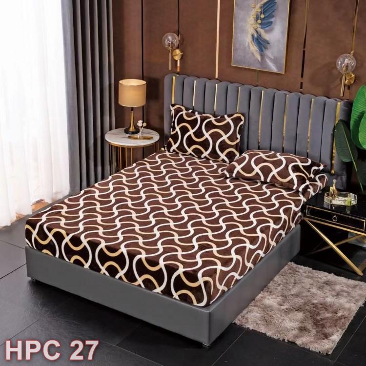 Husa de pat cocolino cu doua fete de perna (cod HPC27)