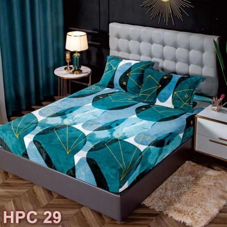 Husa de pat cocolino cu doua fete de perna (cod HPC29)