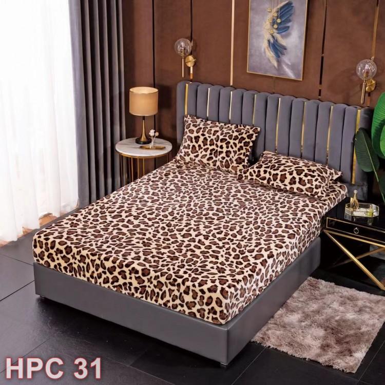 Husa de pat cocolino cu doua fete de perna (cod HPC31)
