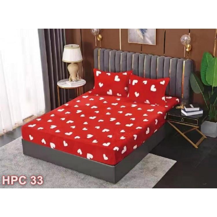 Husa de pat cocolino cu doua fete de perna (cod HPC33)