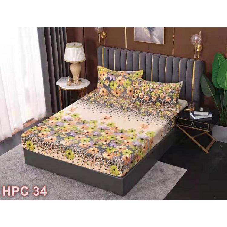 Husa de pat cocolino cu doua fete de perna (cod HPC34)