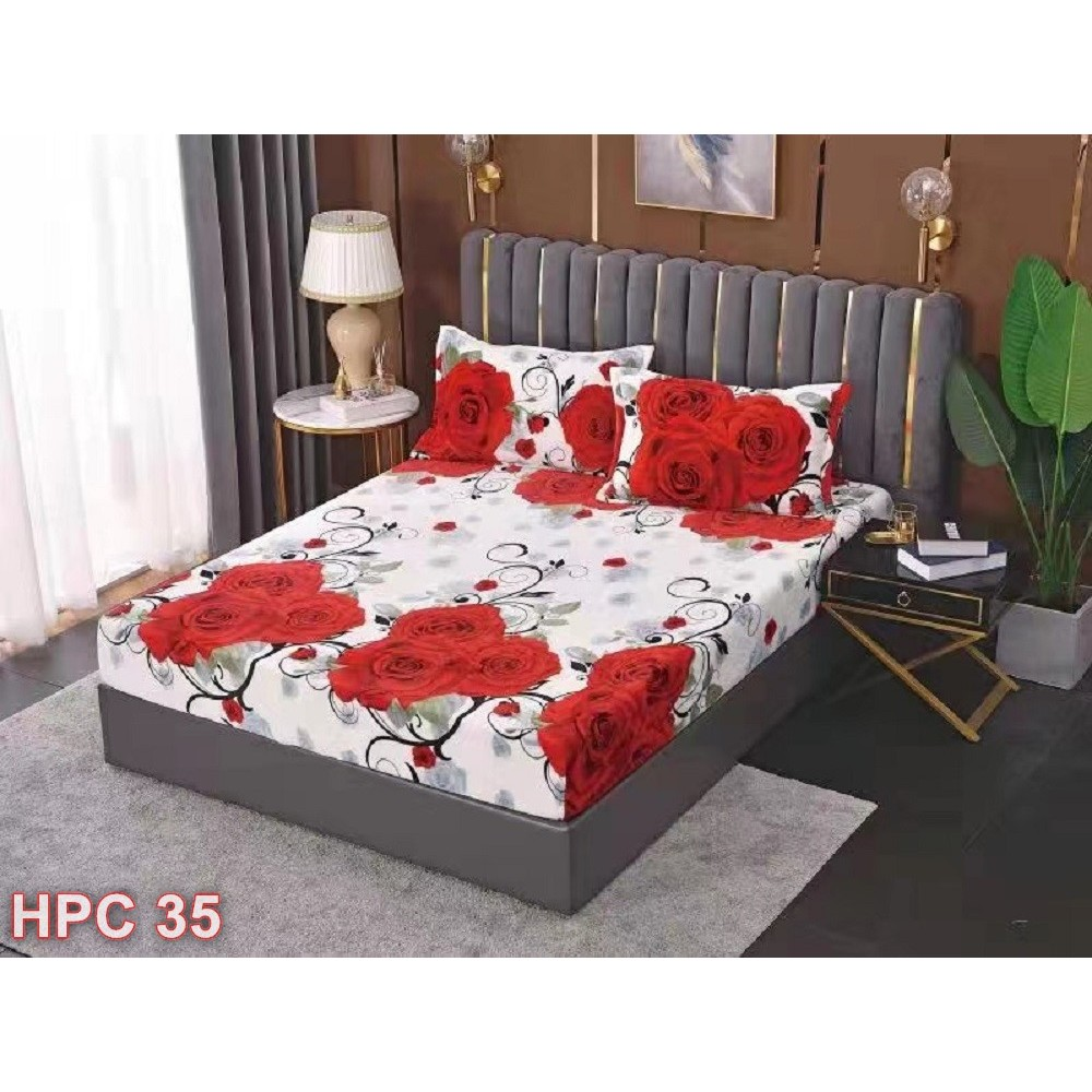 Husa de pat cocolino cu doua fete de perna (cod HPC35)