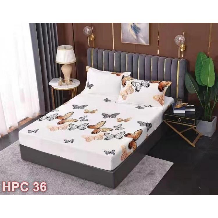 Husa de pat cocolino cu doua fete de perna (cod HPC36)