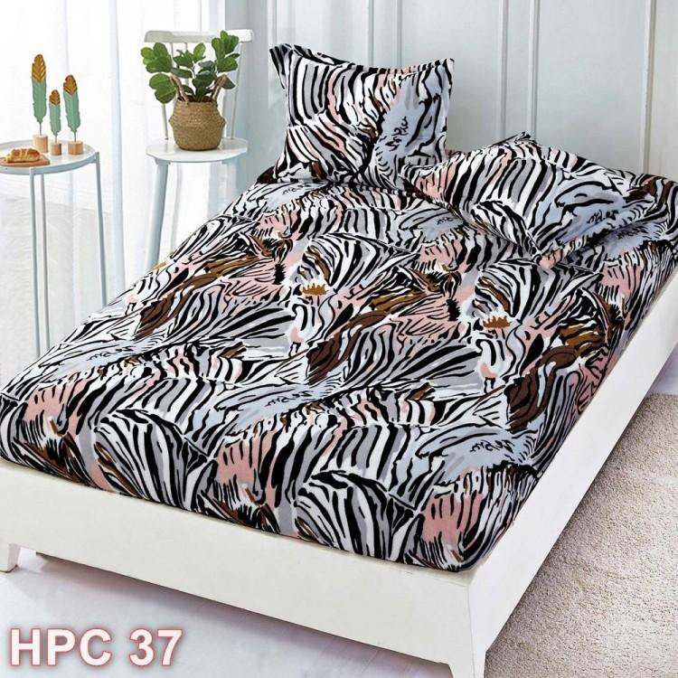 Husa de pat cocolino cu doua fete de perna (cod HPC37)