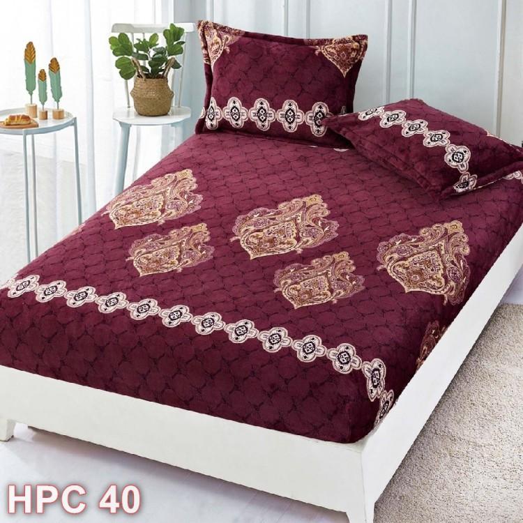 Husa de pat cocolino cu doua fete de perna (cod HPC40)