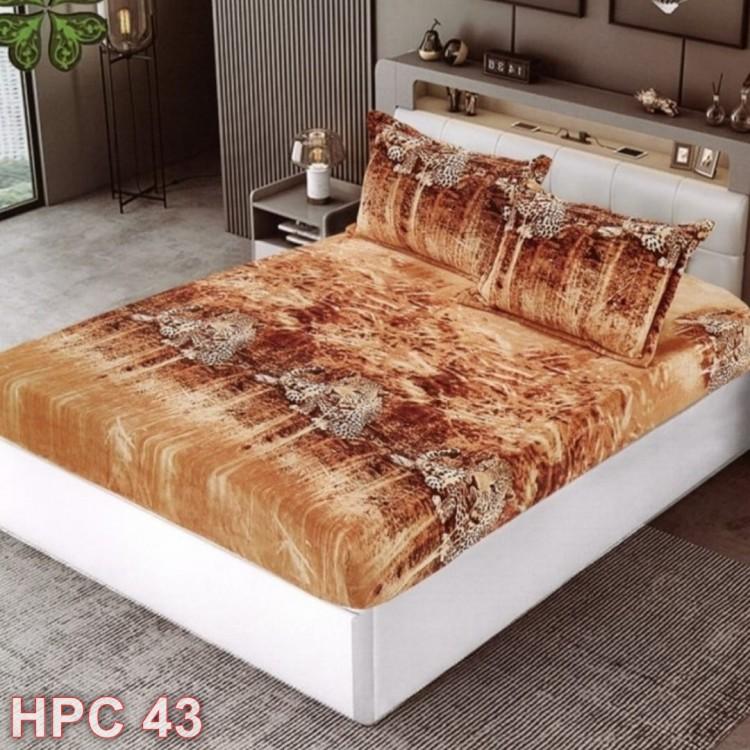 Husa de pat cocolino cu doua fete de perna (cod HPC43)
