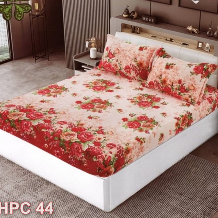 Husa de pat cocolino cu doua fete de perna (cod HPC44)