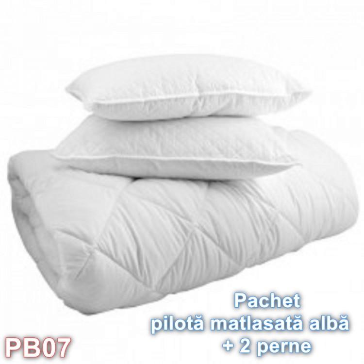 Pilota matlasata cu doua perne (cod PB07)
